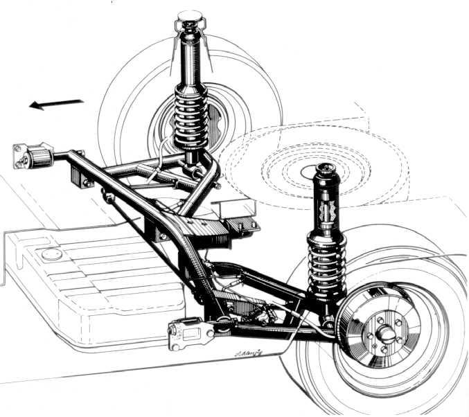 1970 Vw Beetle Rear Suspension Diagram